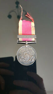 Original China War Medal 1900 - Royal Navy - Awarded to J Ray - A.B HMS Barfleur