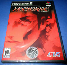 Shin Megami Tensei: Nocturne Sony PlayStation 2 - PS2 Factory Sealed! Free Ship!