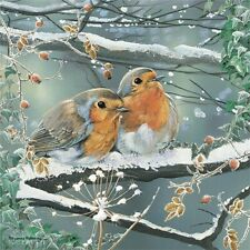 Red ROBIN Snowy Winter Christmas Jigsaw Puzzle | 1000 Piece | New