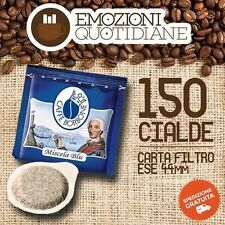 150 Waffles Coffee Bourbon mixture Quality Blue for de longhi icon eco 310