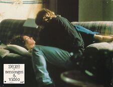 James Spader Andie MacDowell Sex, Lies & Video Steven Soderbergh Lobby card 1989
