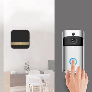 Wireless Smart Doorbell WiFi Remote Video Camera Door Intercom IR Security Bell