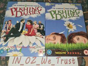 Pushing Daisies - Season / Series 1-2 (DVD, 2009, 7-Disc Box Set Bundle)