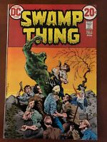 Swamp Thing #5 First Series 1973 Wrightson!!  Higher Grade Bronze Age Beauty!!!!