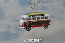 Volkswagen Samba Surfer Bus Van Ornament VW Kombi Ron Jon Surf Shop Peace Bulli