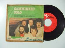 """Limousine – Camminerò Solo - Disco Vinile 45 Giri 7"""" Stampa ITALIA 1978"""