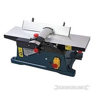 Heavy Duty Silverline Silverstorm 1800W Bench Planer 150mm Wood Work joinery New