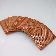Us Stock 20pcs Prototype Pcb Universal Bread Board 5 X 7cm Sigle Side Copper