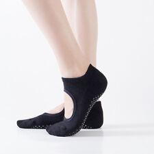Women Men Barre Yoga Pilates Ballet Exercise Grips Cotton Socks Non Slip Skid