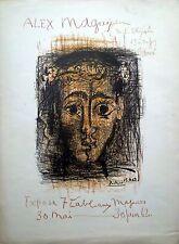 Pablo Picasso:Alex Maguy affiche litho signée et datée 1962 papier arches P1496