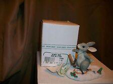 Silvestri Charming Tails Dean Griff Figurine Binkey Snow Shoeing