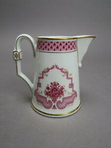 Höchst Heinrich Porzellan Classic Athene Purpur Milchkännchen Creamer ca 10 cm H