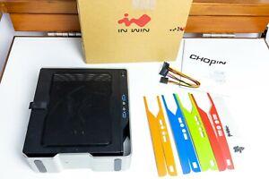 InWin Chopin mini ITX case Black Aluminium 150W 80 PLUS Bronze PSU