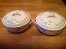 Poole Pottery Springtime Pattern  ( 2 Twin Handled & Lidded Tureens )