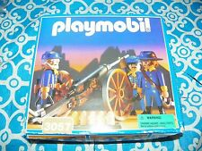 NEW Box Playmobil Western 3057 Union Cavalry Figures Soldiers Civil War Set -XX