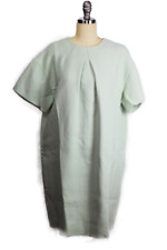 Womens Rochas Dress sz 42 M Light Green Mini Shift Made in Italy NWT $1825