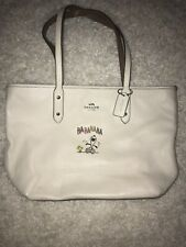 Coach Handbag Snoopy And Peanuts Used Once