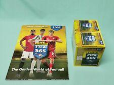 Panini Fifa 365 2021 Sticker  Sammelalbum + 2 x Display / 72 Tüten
