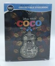 Coco (Blu-ray+DVD+Digital, 2018; 3-Disc Set, Only @ Best Buy Steelbook) NEW