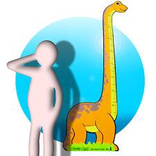 Messlatte für Kinder als Wandtattoo Motiv Maßband Kind Größe messen Dino