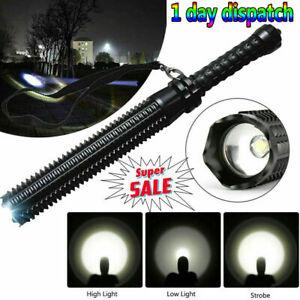 HOT Baseball Bat LED Flashlight Bright Baton Torch Security Emergency Lamp Light