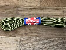 Dr Martens boot laces 140cm Made In England Yellow/Black Wasp