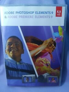 Adobe Photoshop Elements 9 plus Adobe Premiere Elements 9-
