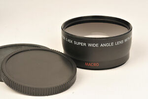 Neewer Semi Fish Eye 0.45X Auxilliary Lens to fit 58mm Lens Filter Thread