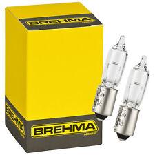 10x BREHMA H21W 24V 21W Halogen Lampe BAY9s Nebelschlussleuchte Rückfahrlicht