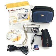 Kodak EasyShare C140 8.2MP Digital Camera 2GB Memory Card Carry Case USB Cable