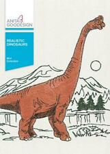 Realistic Dinosaurs Anita Goodesign Embroidery Machine Design CD NEW