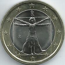 Italien 1 Euro Kursmünze (2002 - 2018), unzirkuliert/bankfrisch