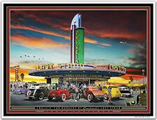 Hot Rod Art Print by Larry Grossman CRUISIN' FOR BURGERS