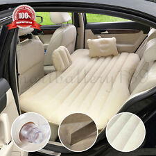 New Inflatable Car Seat Sleep Rest Spare Mattress Air Bed Travel Holiday Camping