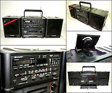 SHARP GX-CD56Z 4 Band Radio CD Cassette Radio Boombox