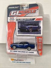 2011 Dodge Challenger R/T Classic * BLUE * Greenlight GL Muscle * K1