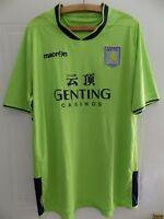 2012 2013 Original Macron Aston Villa Football Shirt Retro Soccer Away Size XXL