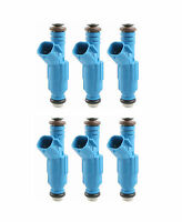 Set (6) 4 Hole High Impedance Upgrade Fuel Injectors For Jeep Cherokee