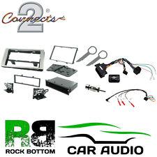 Ford Fiesta 2005-2008 Alpine Bluetooth CD Car Stereo Silver Fascia Kit CTKFD22