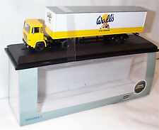 Scania 110 40ft Box Trailer Walls Ice Cream 1-76 scale new in case 76SC110004