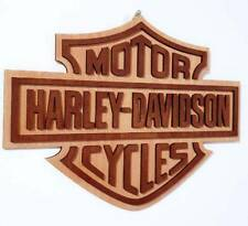 Harley Davidson Motor Cycles - Wooden Sign Wall Decoration