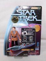 """1997 STAR TREK Warp Factor Series 1 """"CONSTABLE ODO"""" Action Figure IOP"""