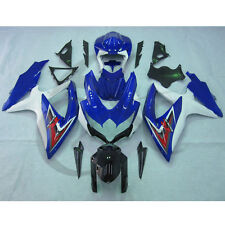 Blue White Injection Fairing Kit For Suzuki GSXR600 750 GSXR 600 750 2008-2010