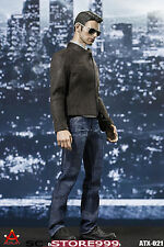 ACPLAY ATX021 1/6 Scale America Captain Sneak Leather Jacket  Suit Cloth Figure
