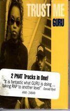 NEW Guru Gangstarr Trust Me & Loungin 1993 Cassette Tape Single Rap Hiphop