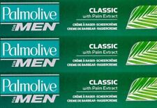 Palmolive Classic Lather Shave Cream with Palm Extract 100ml (Pack of 3)