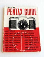 *c1975* ● Asahi PENTAX SLR GUIDE 18th Edition (Focal Press) ● Softbound 72pp