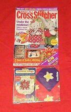 Cross Stitch Cross Stitcher Magazine + Free Cross Stitch Kit Craft Magazine