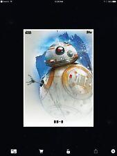 STAR WARS CARD TRADER - THE LAST JEDI - PREMIERE PORTRAITS - BB-8