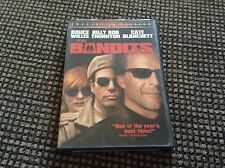 DVD * BANDITS * 2002 NR * SPECIAL EDITION * BRUCE WILLIS * BIILY BOB THORNTON